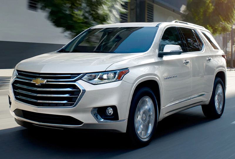 2021 Chevy Traverse  Safety