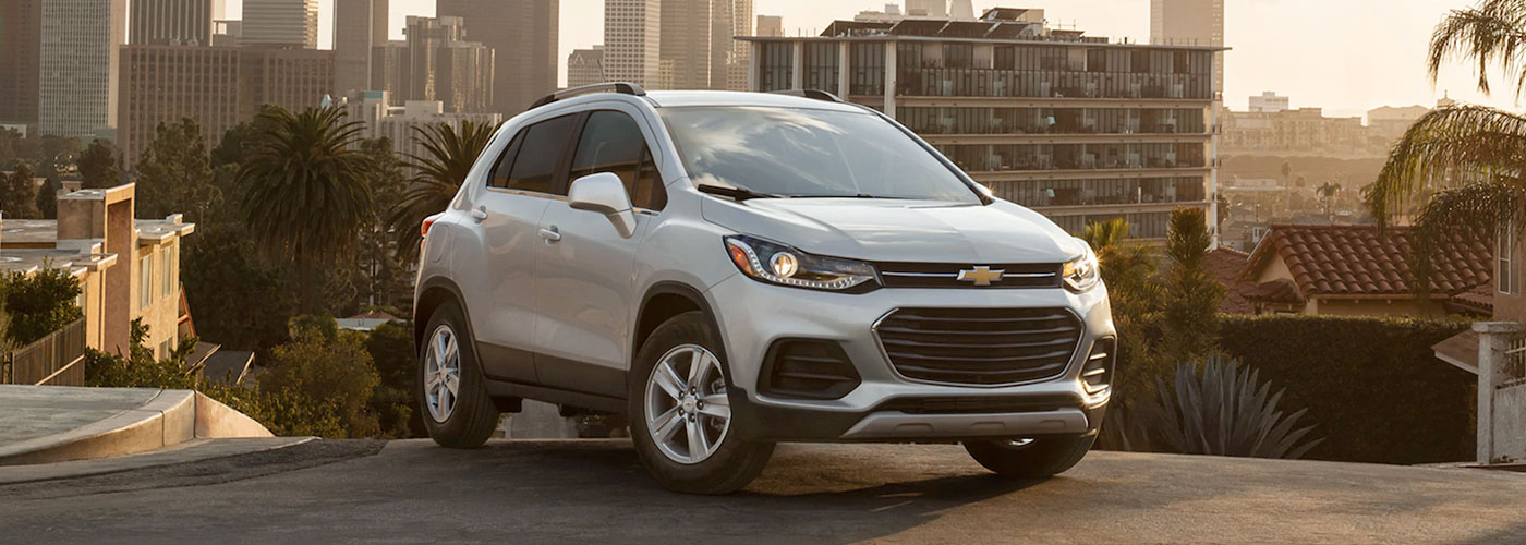 2021 Chevy Trax header
