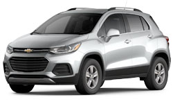 2021 Chevy Trax trims