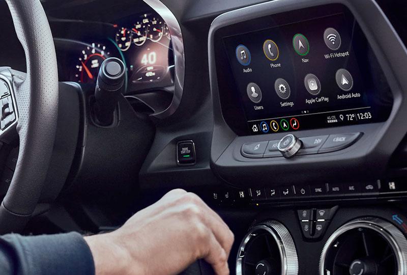 2021 Chevy Camaro Technology