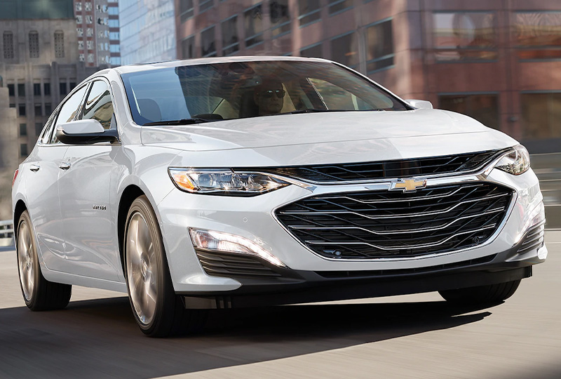 2021 Chevy Malibu Design