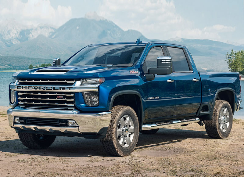 2021 Chevy Silverado HD Design