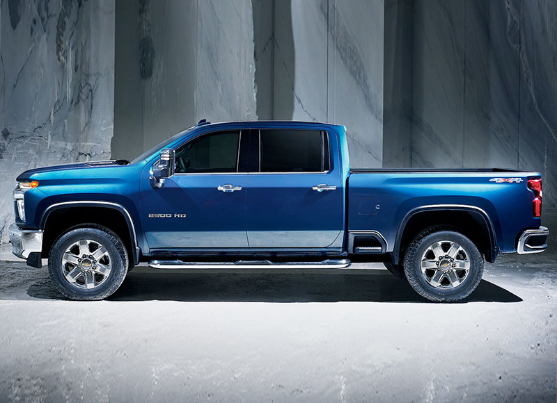 2021 Chevy Silverado HD Safety