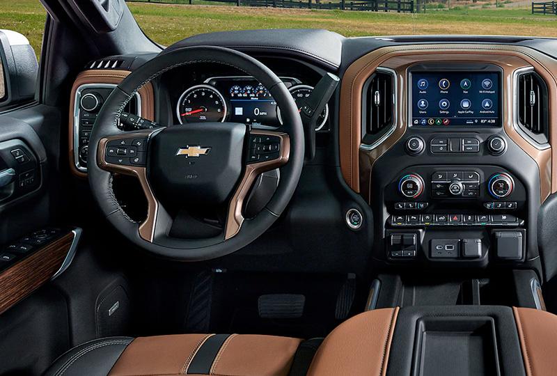 2021 Chevy silverado Design