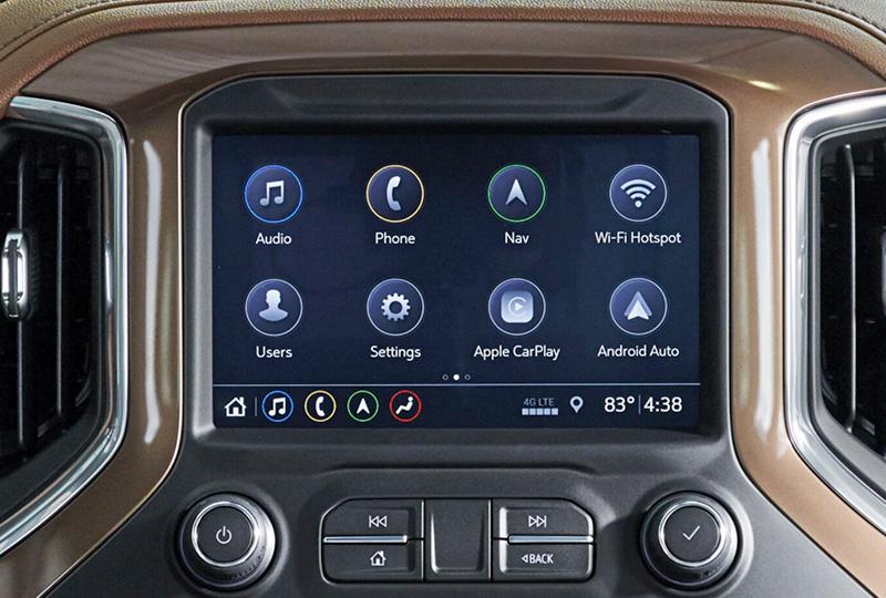 2021 Chevy silverado Technology