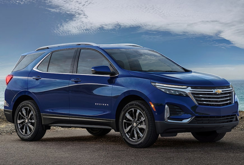 2022 Chevy Equinox Design