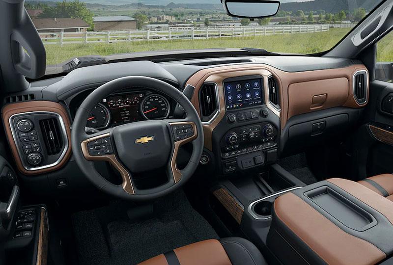 2022 Chevy Silverado HD Design