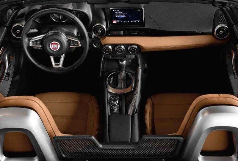 2019 Fiat 124 Spider  INTERIOR
