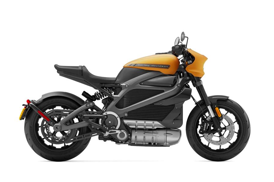 2020 Harley-Davidson LiveWire trim