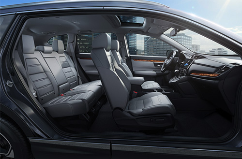 2017 Honda CR-V Top-Tier Interior