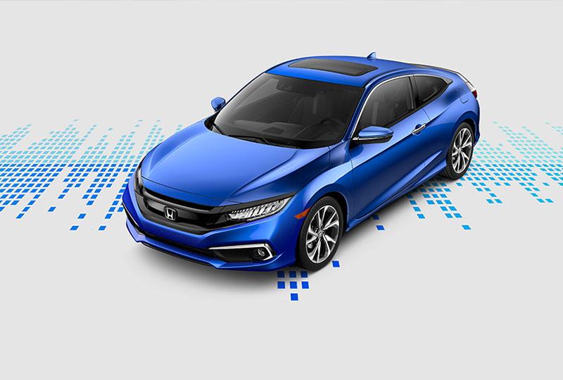 The 2019 Honda Civic Coupe in Manassas, VA, Serving Fairfax