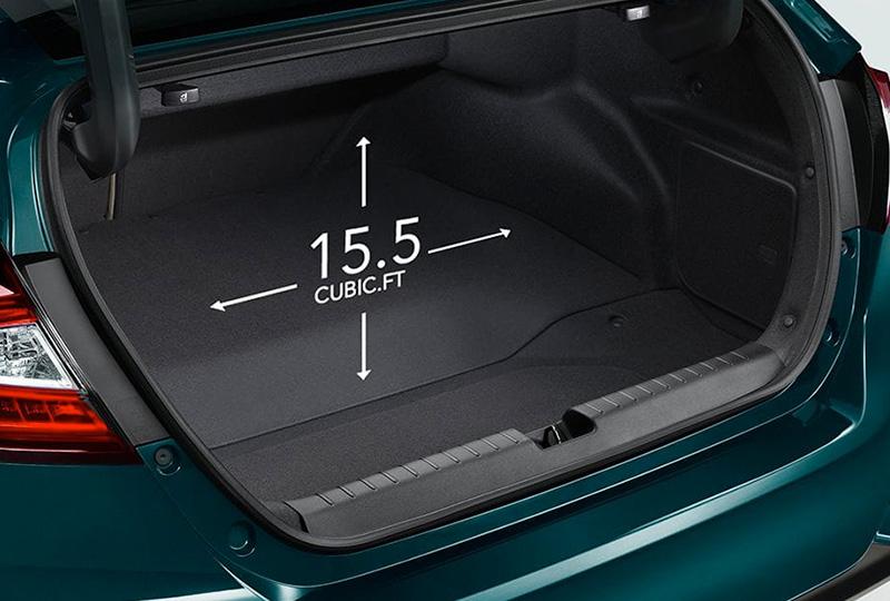 2019 Honda Clarity Plug-in Hybrid Interior