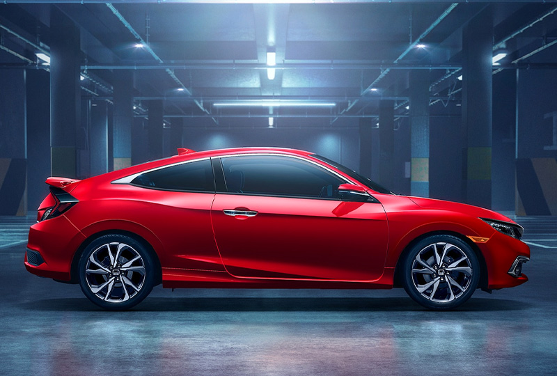 2020 Honda Civic Coupe Design