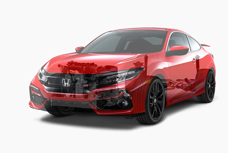 2020 Honda Civic Si Coupe Performance