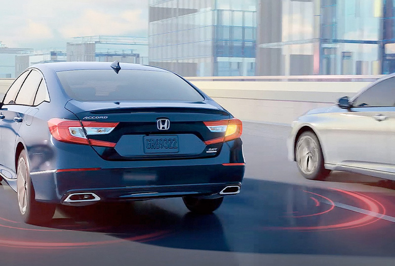 2021 Honda Accord  Blind Spot Information System