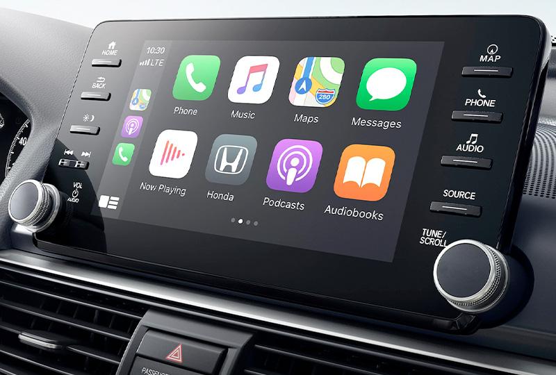 2021 Honda Accord Wireless Apple CarPlay® Integration