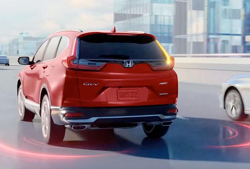 2021 Honda CR-V Hybrid   Blind Spot Information System