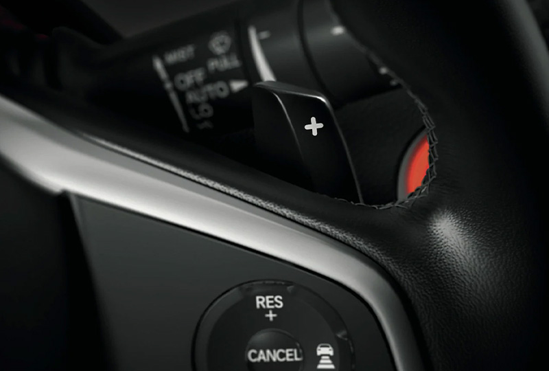 2021 Honda civic-hatchback Paddle Shifters