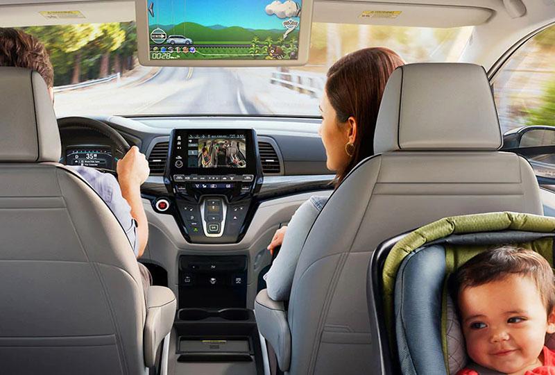 2021 Honda Odyssey Modern Design Meets Family Fun