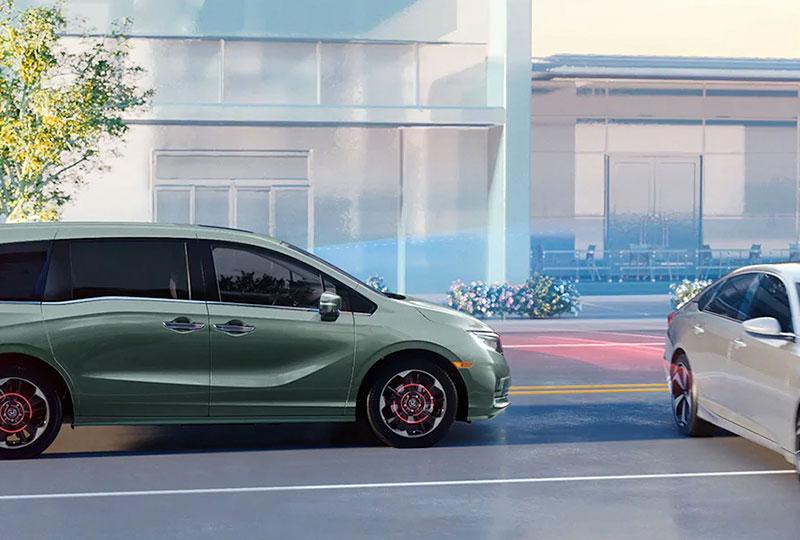 2021 Honda Odyssey The Honda Sensing Suite®