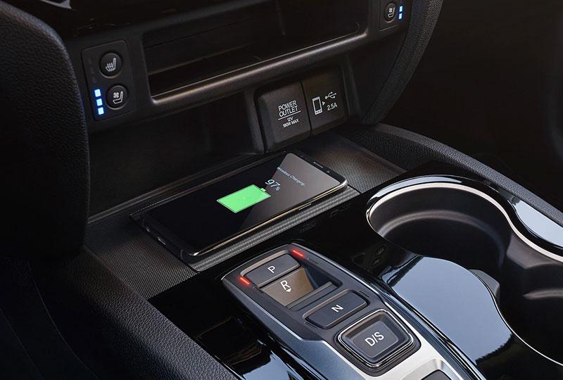 2021 Honda Passport Wireless Phone Charger