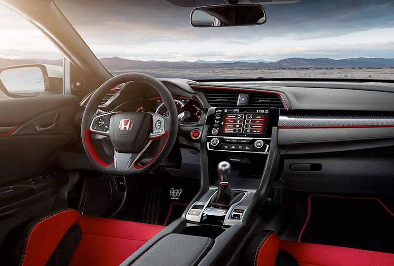 2021 Honda civic-type-r  High-Tech Touches