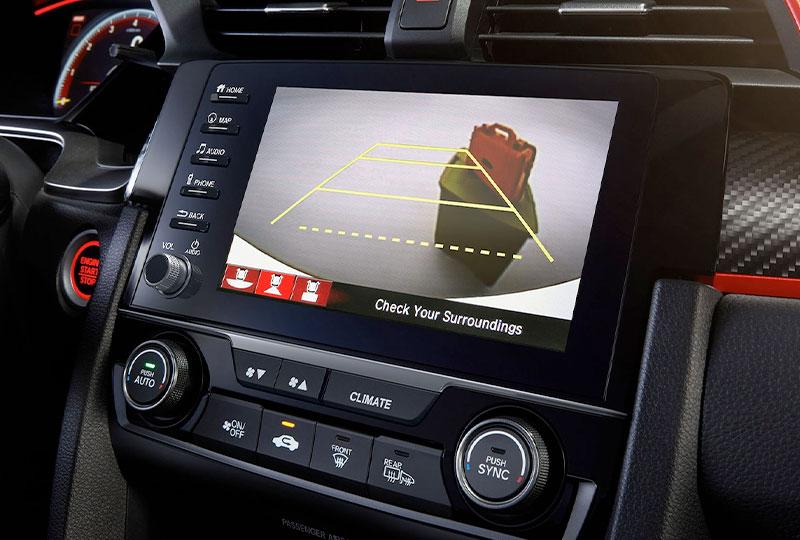 2021 Honda civic-type-r Multi-Angle Rearview Camera