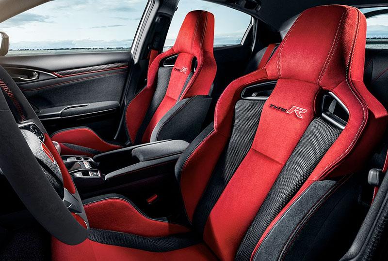 2021 Honda civic-type-r  Sport Seats