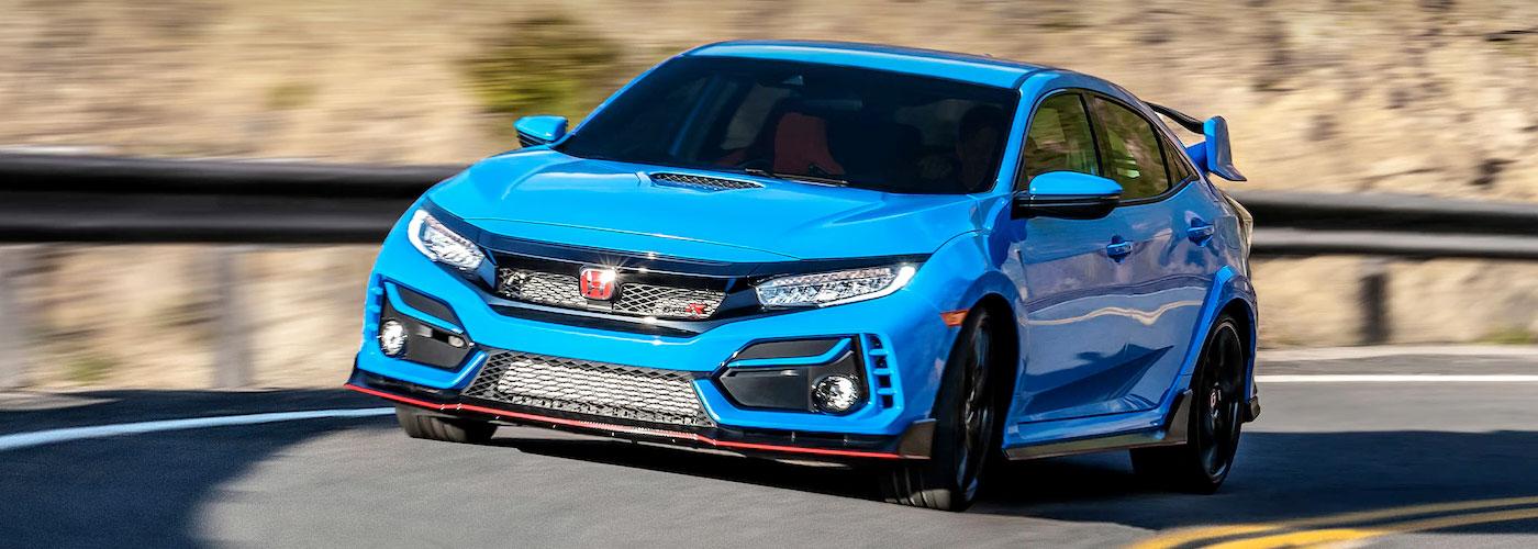 2021 Honda civic-type-r  header