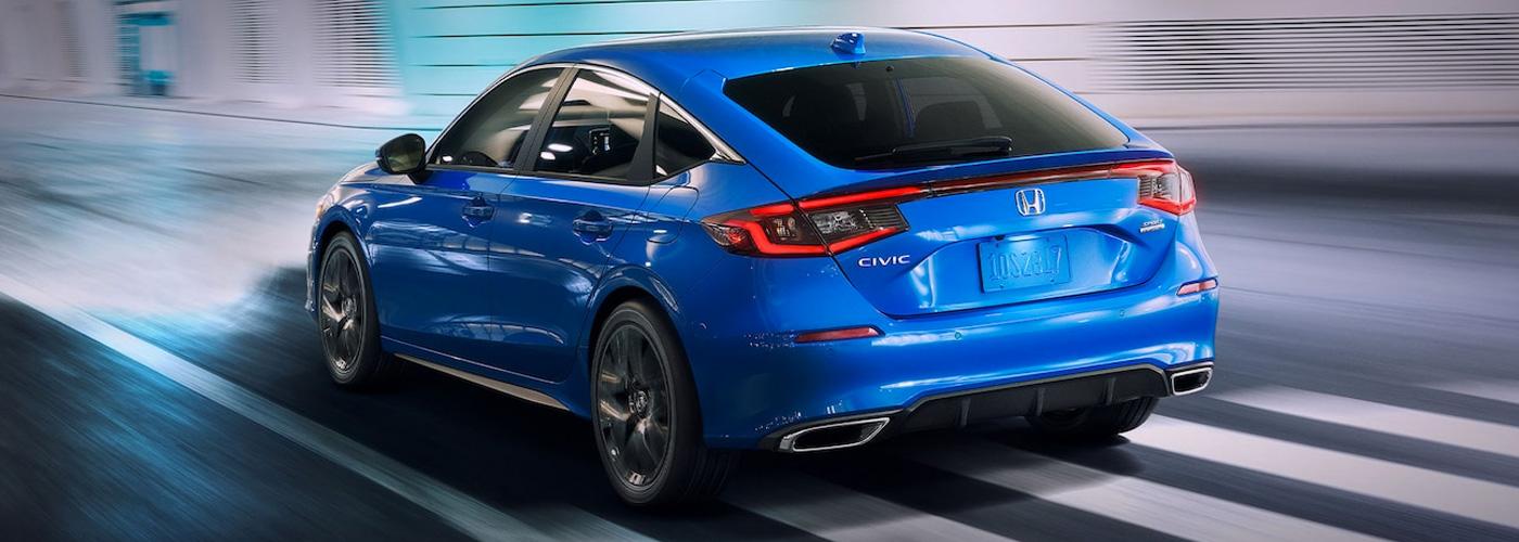 2022 Honda Civic Hatchback Header