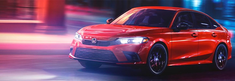 2022 Honda Civic Sedan Header