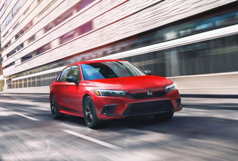 2022 Honda Civic Sedan Hybrid Performance