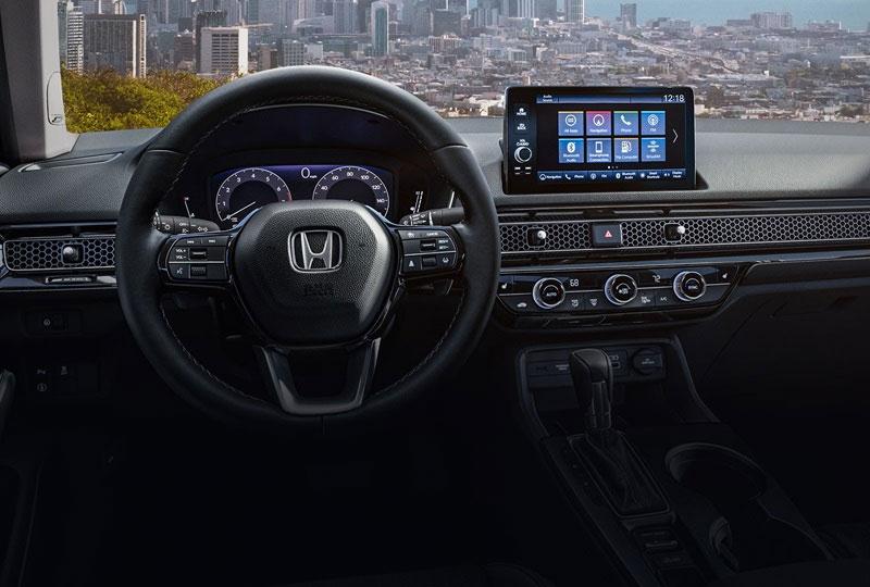 2022 Honda Civic Sedan coming soon technology