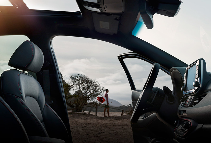 Stay connected anywhere the road takes you with advanced tech integration.