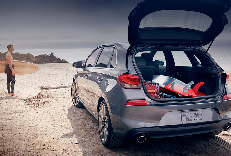 Take on any adventure in Hyundai's most versatile hatchback.