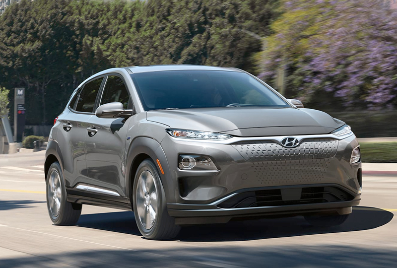 2019 Hyundai Kona Electric Design