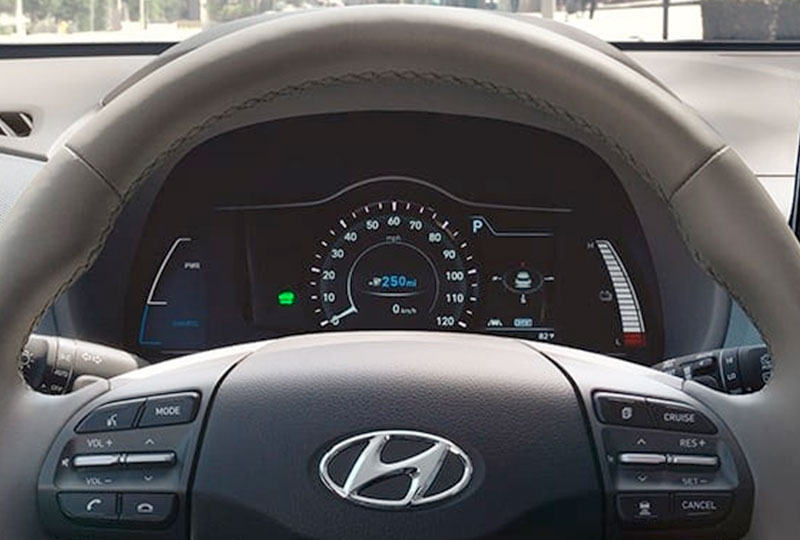 2020 Hyundai Kona-Electric  INTERIOR
