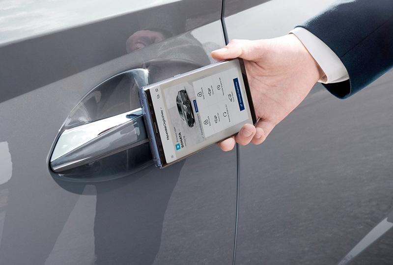 2020 hyundai Sonata Hybrid technology