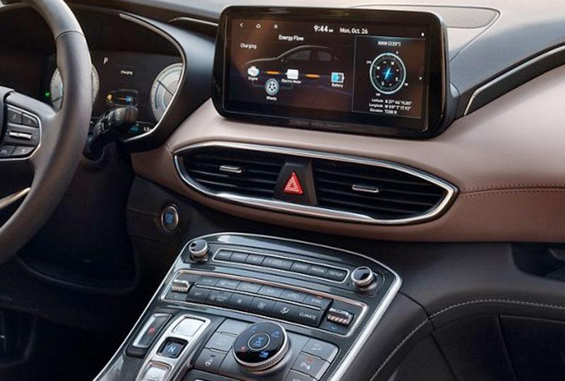 2021 hyundai Santa Fe Hybrid technology