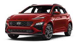 2022 Hyundai Kona N Line trims
