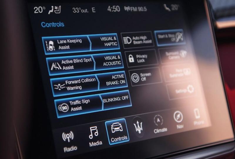 2019 Maserati Ghibli S Q4 Safety