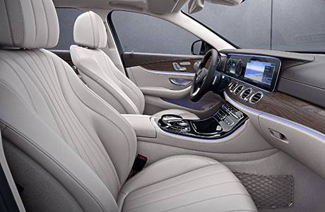 2017 Mercedes E-Class Wagon Atmosphere, ambience, and an aura that adapts to yours.