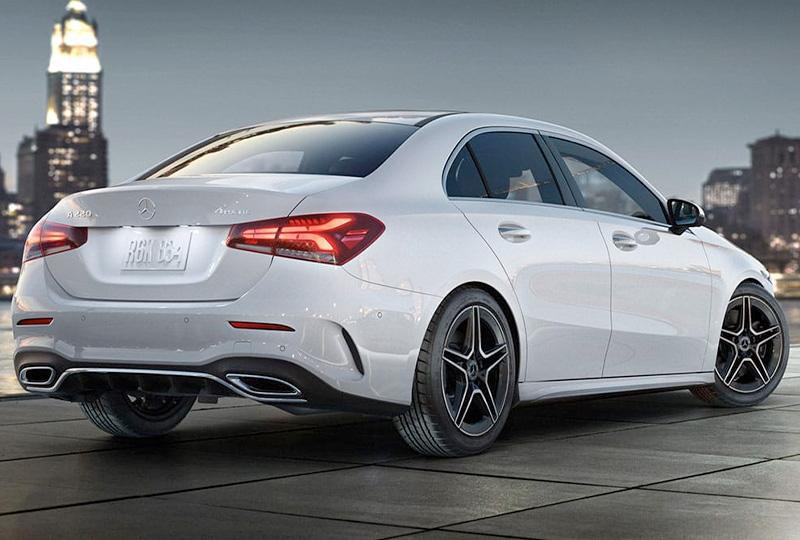 2021 Mercedes Benz A-class sedan design