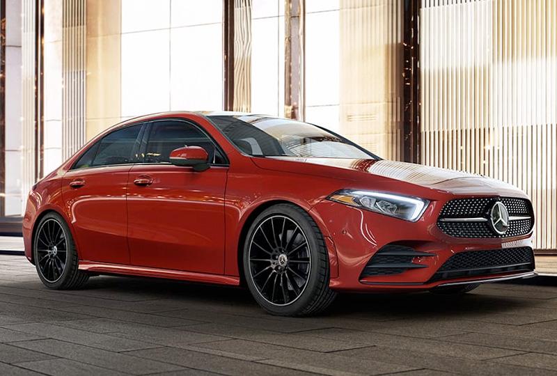 2021 Mercedes Benz A-class sedan performance