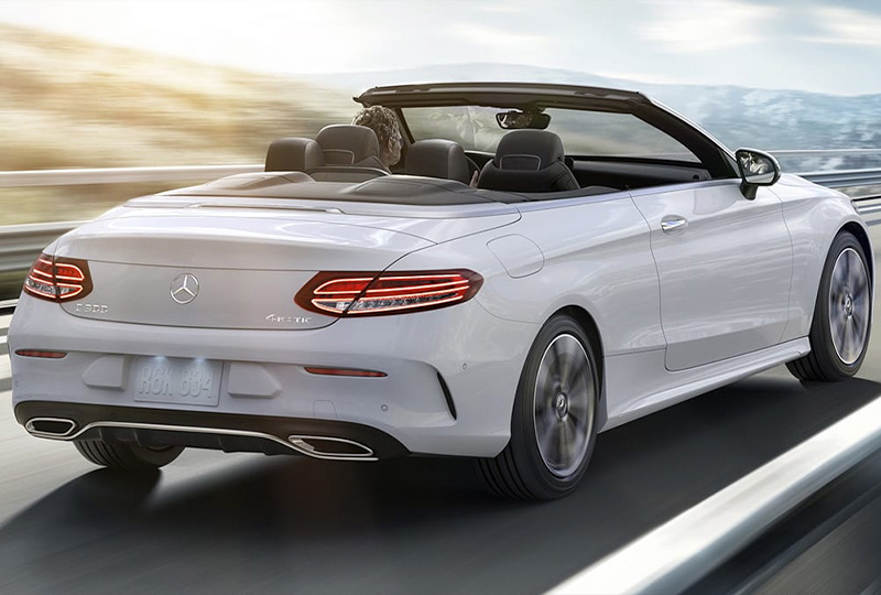 2021 MB C-Class Cabriolet performance