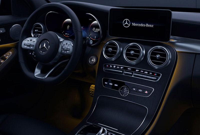 2021 Mercedes Benz C-class sedan design