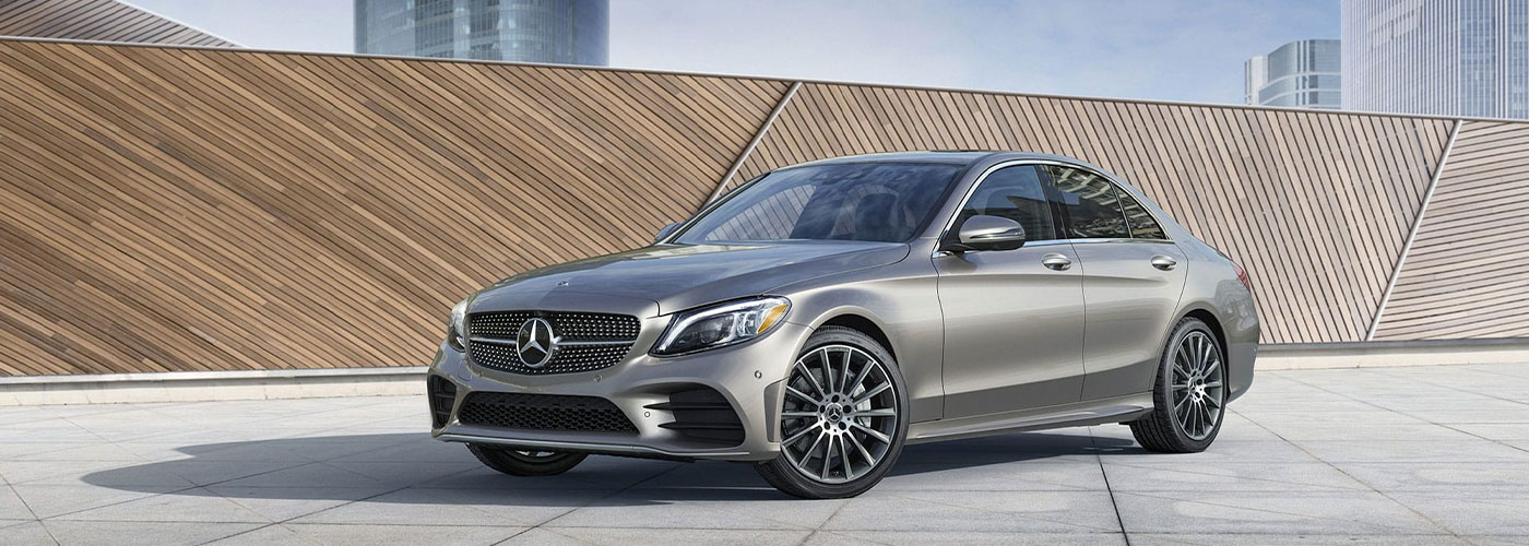 2021 Mercedes Benz C-class sedan header