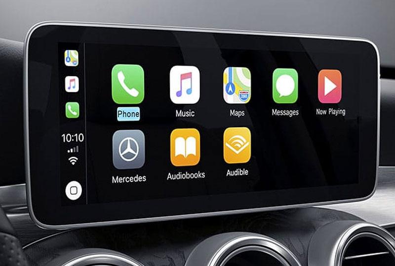 2021 Mercedes Benz C-class sedan technology