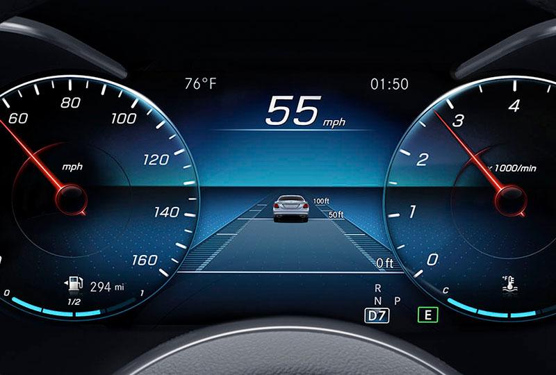 2021 Mercedes Benz C-class sedan safety