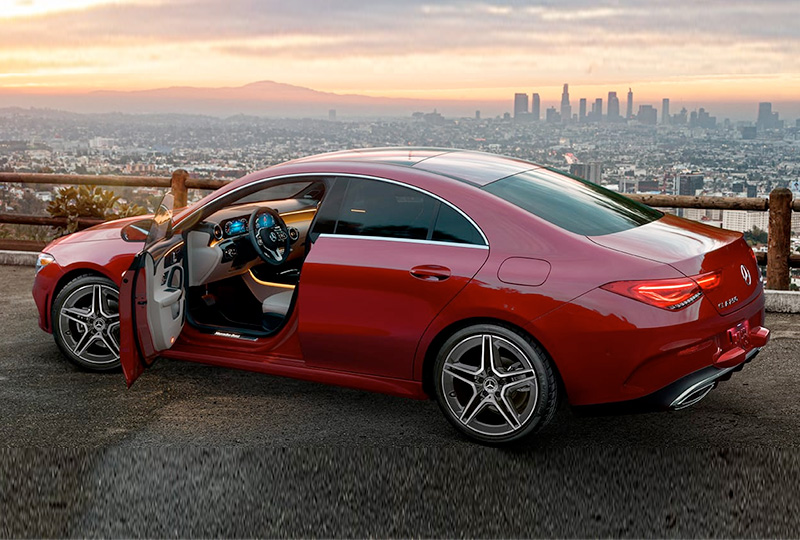 2021 Mercedes Benz CLA-coupe design